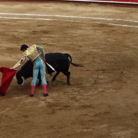 Foto tomada en Plaza de Toros Nuevo Progreso por Diego B. el 2/26/2012