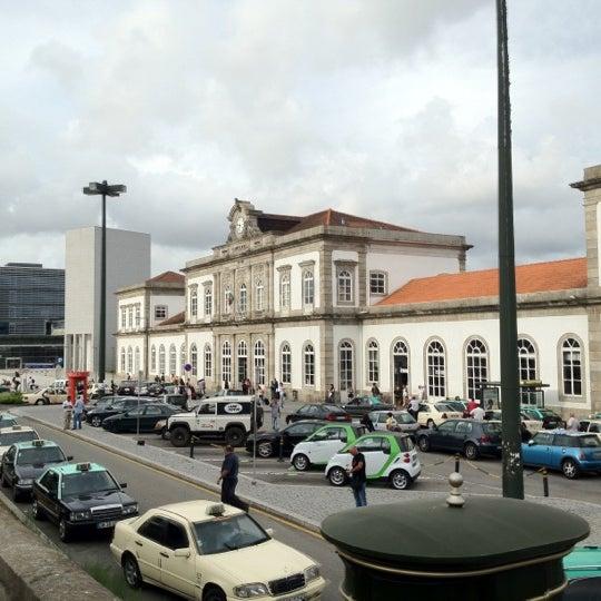 Photo taken at Estação Ferroviária de Porto-Campanhã by Firdavs U. on 8/12/2012