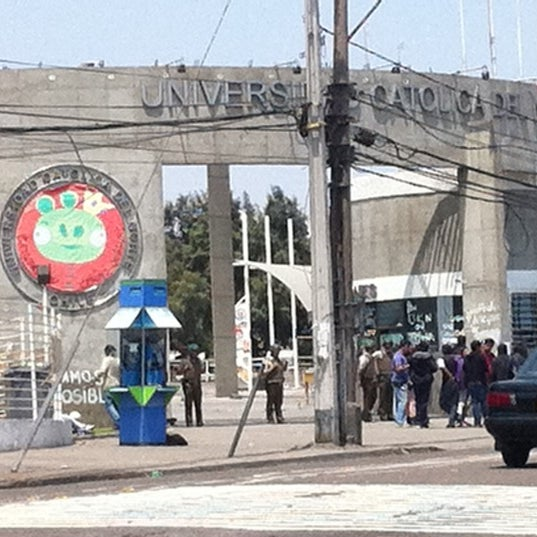 Foto tomada en Universidad Católica del Norte por Arika P. el 10/21/2011