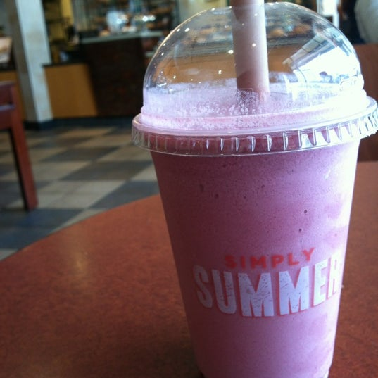 Try the new smoothies. Black cherry is my favorite, but they're all insanely delicious.
