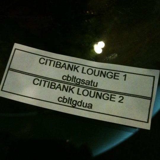 Photo taken at Citibank Lounge by Paloy A. on 10/13/2011