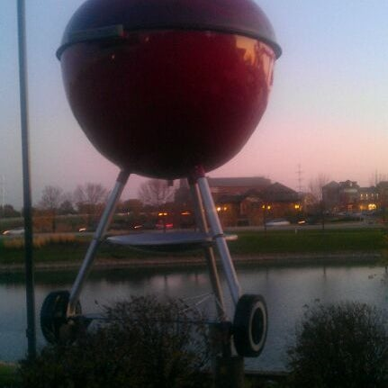 Photo taken at Weber Grill Restaurant by Robin L. on 11/1/2011
