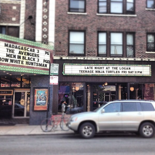 Photo taken at Logan Theatre by Juan D. on 7/6/2012