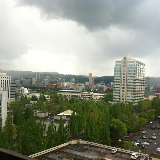 Photo taken at DoubleTree by Hilton Hotel Portland by KD M. on 5/23/2012