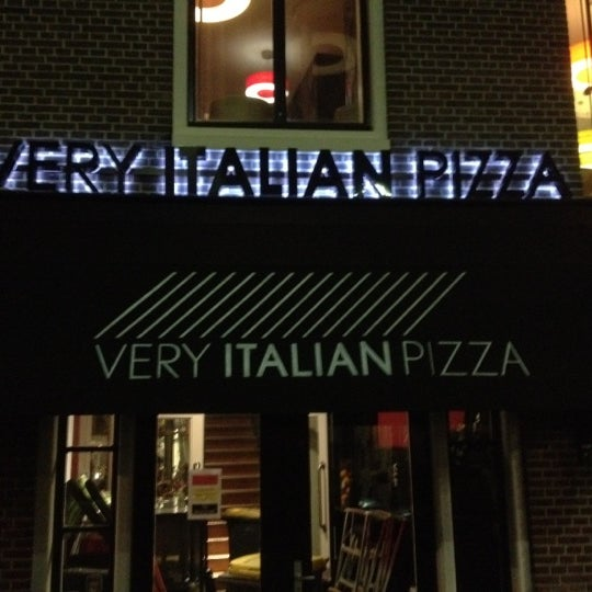 Photo taken at Very Italian Pizza by Dennis v. on 3/5/2012