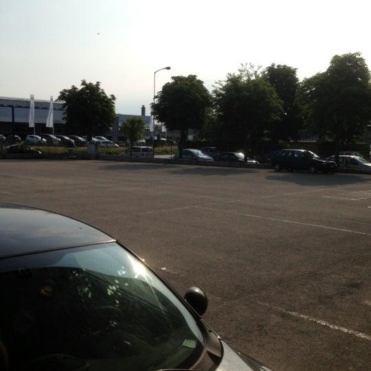 Photo taken at Parcheggio Via Sassonia by Namer M. on 5/29/2012