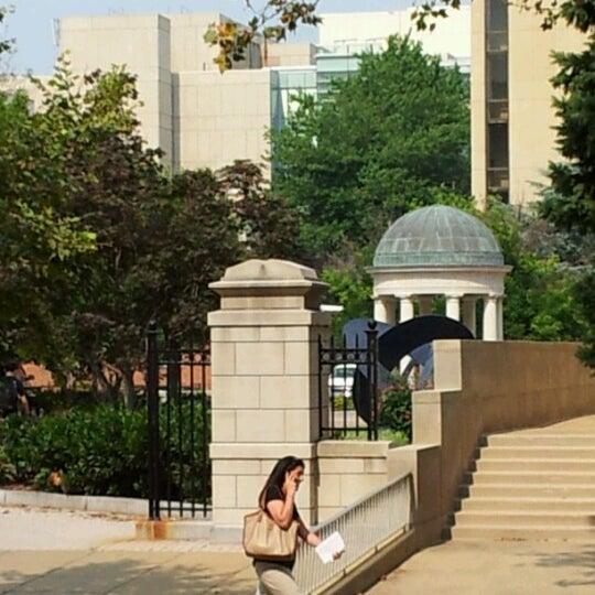 Photo taken at The George Washington University by Jay C. on 6/25/2012
