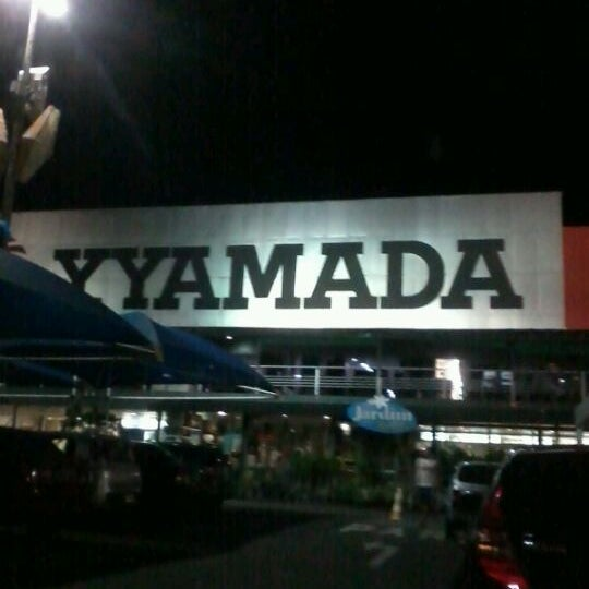 Photo taken at Yamada Plaza by Priscilla A. on 5/30/2012