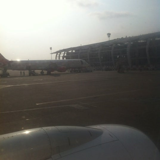 Photo taken at Goa International Airport / Dabolim Airport (GOI) by Gaurav B. on 4/20/2012