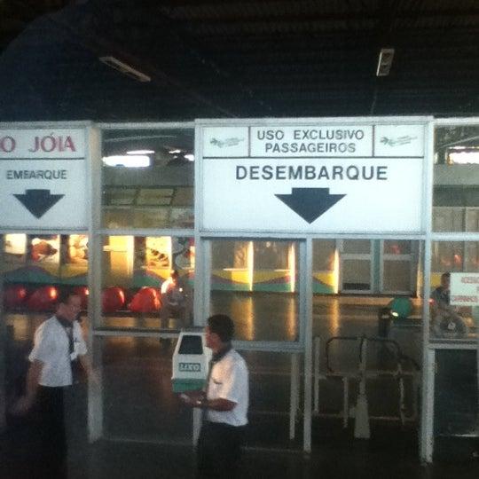 Photo taken at Terminal Rodoviário José Garcia Villar by Érika M. on 5/3/2012