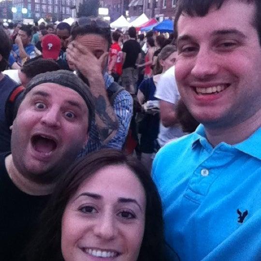 Photo taken at Night Market Washington Avenue by Jackie D. on 6/29/2012