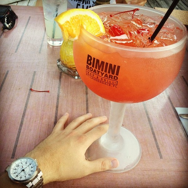 Photo taken at Bimini Boatyard Bar & Grill by Nikolay S. on 7/30/2012