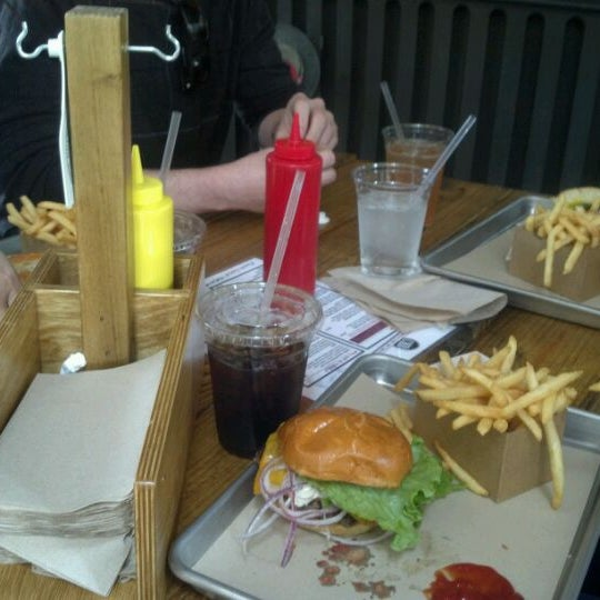 Photo taken at Chop House Burger by Hannah M. on 3/2/2012