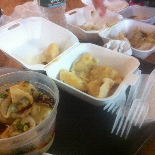 Photo taken at Vanessa's Dumpling House by Jacob W. on 3/18/2012
