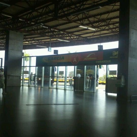 Photo taken at Terminal Rodoviário José Garcia Villar by Erickson N. on 1/5/2012