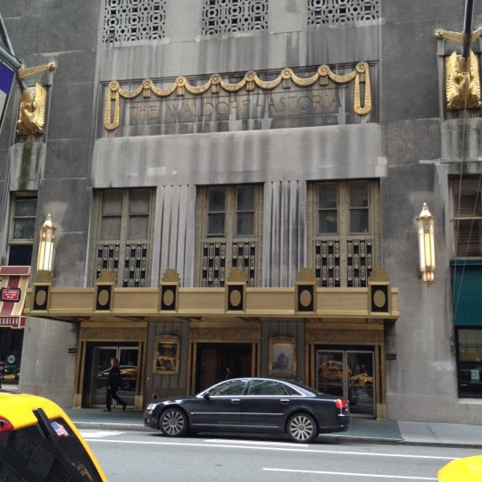 Photo taken at Waldorf Astoria New York by Aron A. on 5/22/2012
