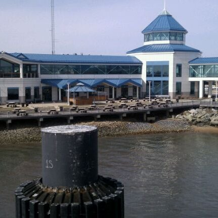 Photo taken at Cape May-Lewes Ferry | Cape May Terminal by Mark H. on 3/8/2011