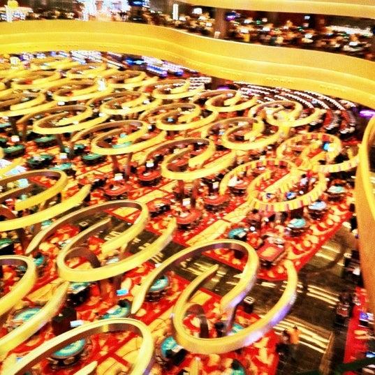 Photo taken at Marina Bay Sands Casino by Luke L. on 12/16/2011