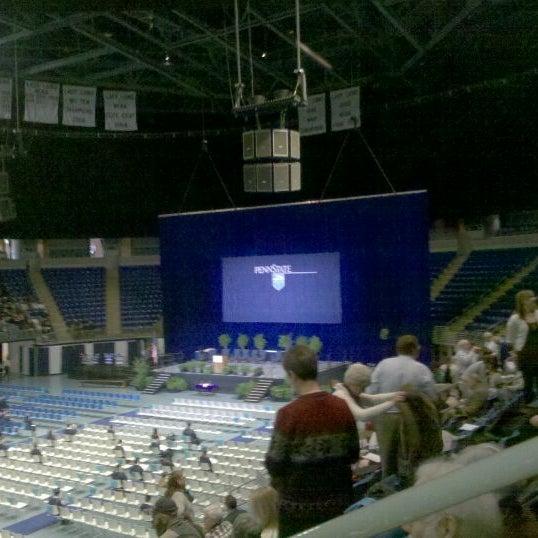 Photo taken at Bryce Jordan Center by Paul W. on 12/17/2011