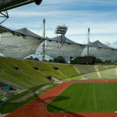 Photo taken at Olympic Stadium by Stephen B. on 9/7/2011