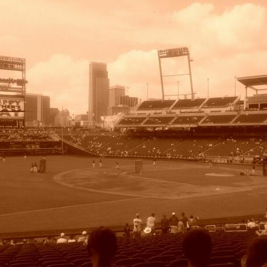 Photo taken at TD Ameritrade Park by Mark D. on 6/19/2011