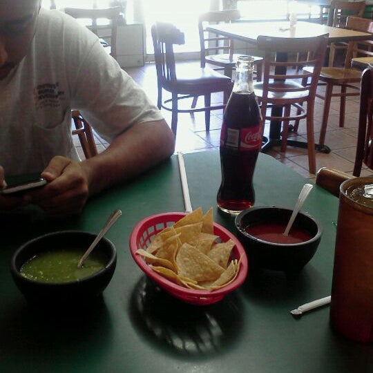 Photo taken at El Nopalito by Dustin D. on 8/24/2011