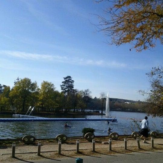 Photo taken at Lago de la Casa de Campo by Alejandra C. on 12/8/2011