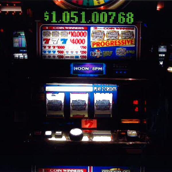 The Wheel of Fortune Wide Area Progressive machine hit for a million dollar jackpot!