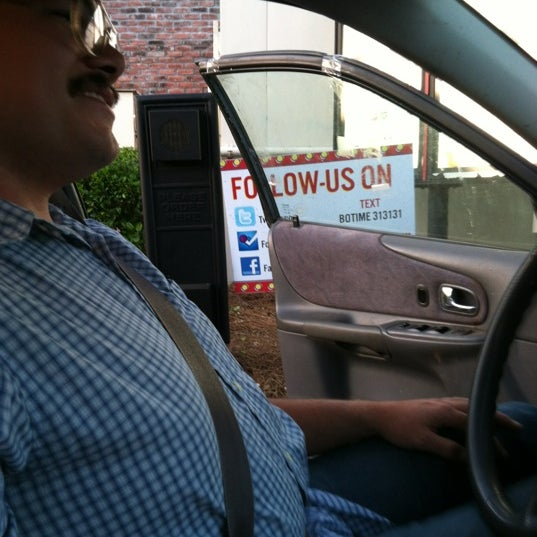 Photo taken at Bojangles' Famous Chicken 'n Biscuits by Madison D. on 4/12/2012