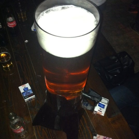 Photo taken at Old Town Brewery by Metin on 8/15/2011