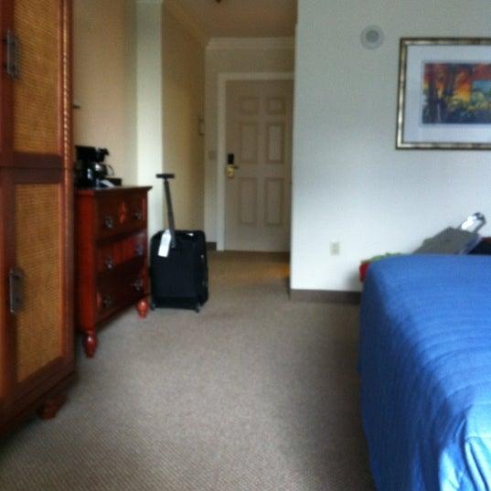 Photo taken at Riverside Hotel by Julie M. on 1/23/2012