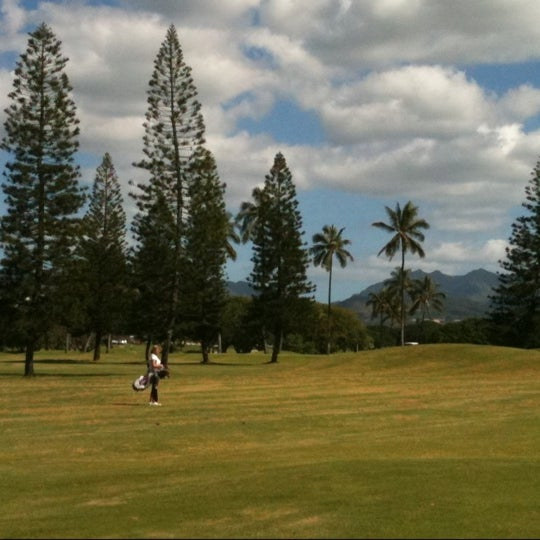 Photo taken at Navy Marine Golf Course by Del G. on 1/9/2011