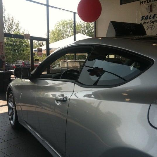Photo Taken At Herb Chambers Hyundai Of Auburn By Jeff K. On 5/27