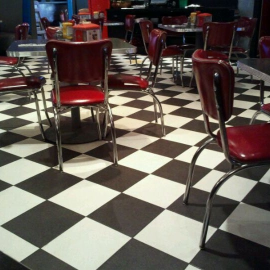 Photo taken at Roundabout Diner & Lounge by Jim L. on 8/27/2011