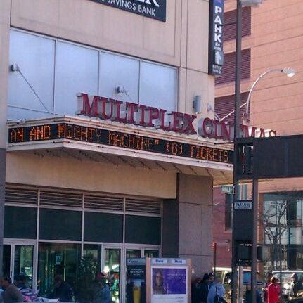 Multiplex movie showings