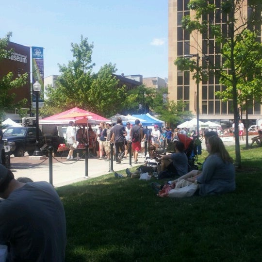 Photo taken at Dane County Farmers' Market by Robert D. on 6/30/2012