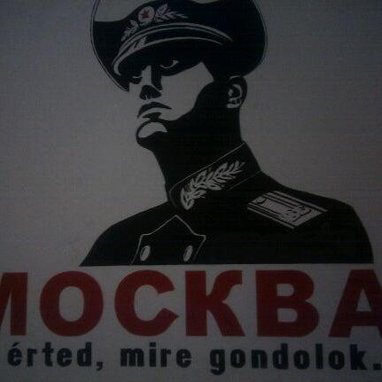 Photo taken at Moszkva Kávézó by Sorin P. on 9/2/2011