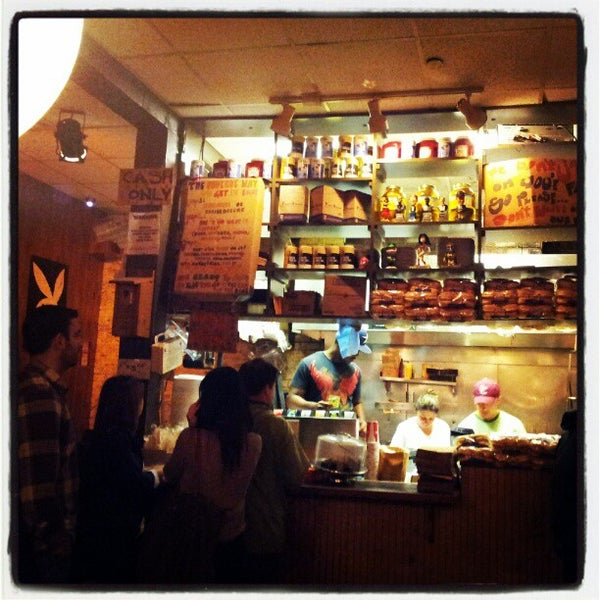 Photo taken at Burger Joint by st_math on 5/9/2012
