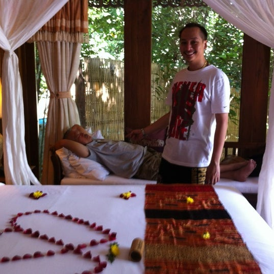 Photo taken at Santhiya Resort And Spa Koh Phangan by Super S. on 11/11/2011