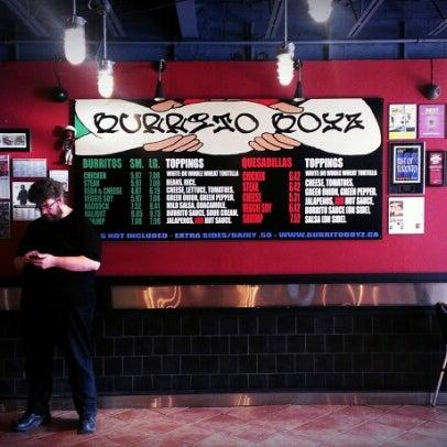 Photo taken at Burrito Boyz by Jonathan P. on 8/13/2012
