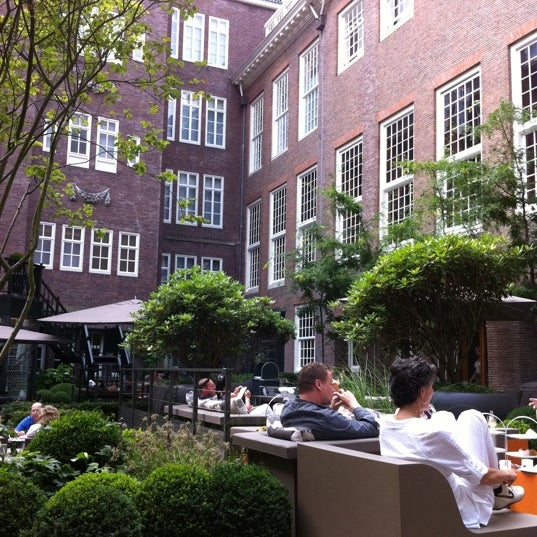Photo taken at Sofitel Legend The Grand Amsterdam by Innopeter on 7/28/2011