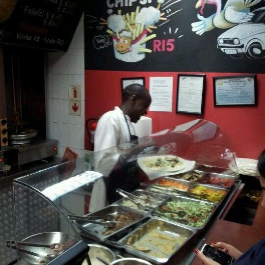 Photo taken at Shawarma Express by James C. on 4/11/2012