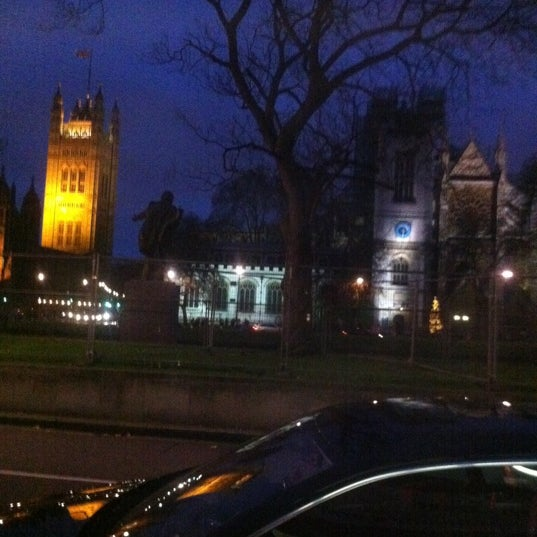 Photo taken at Queen Elizabeth II Conference Centre by Kevin W. on 12/31/2011