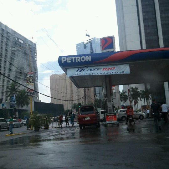 Photo taken at Petron by Louie A. on 12/1/2011