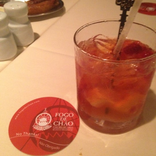 Photo taken at Fogo de Chao Brazilian Steakhouse by Amber B. on 6/20/2012