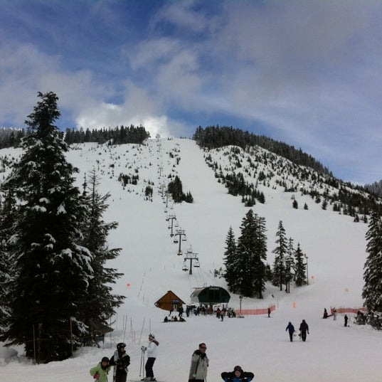 Photo taken at Cypress Mountain Ski Area by Melodie F. on 3/17/2012
