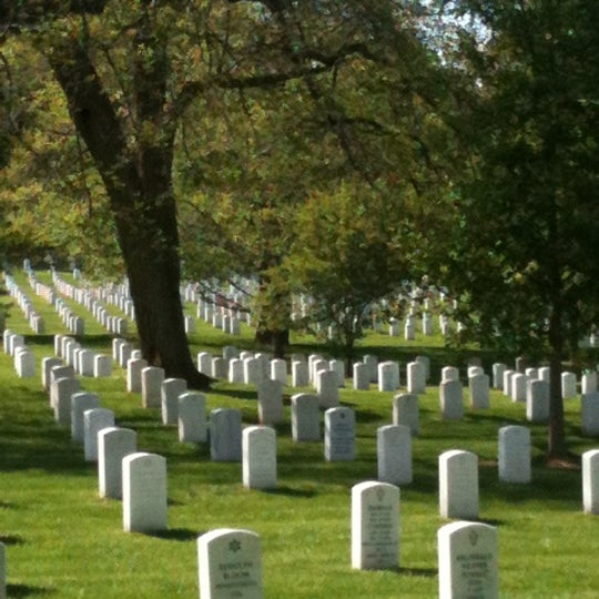Photo taken at Arlington National Cemetery by Francesca A. on 4/29/2012