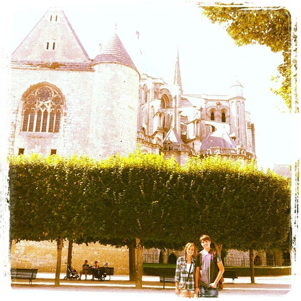 Photo taken at Cathedral Basilica of Our Lady by Eliad A. on 8/19/2012
