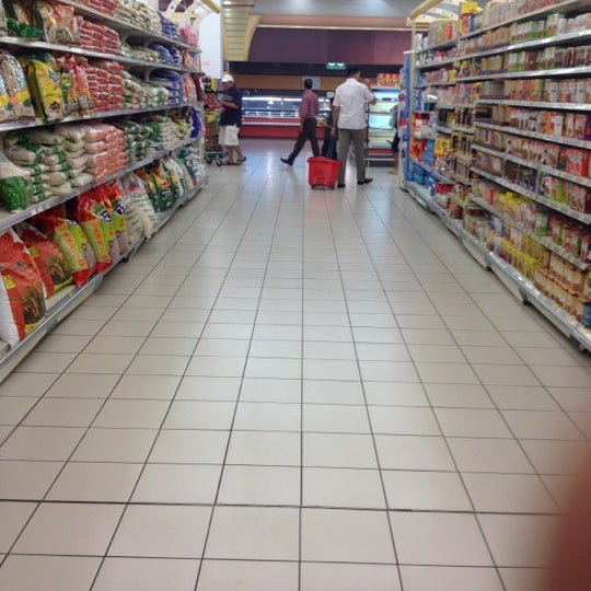 Photo taken at Lulu Hypermarket by Jogesh A. on 3/13/2012