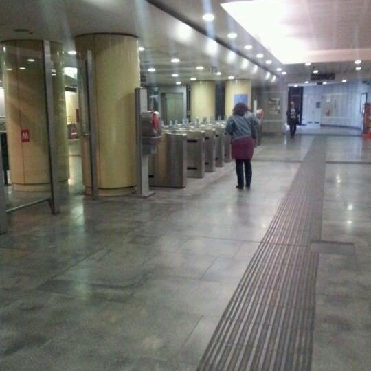 Photo taken at Metro Rivoli (M1) by Roberto C. on 5/7/2012
